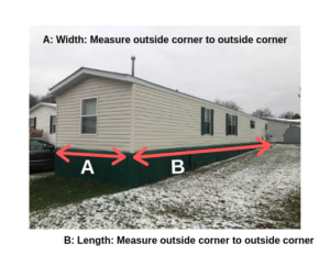 How to Measure a Mobile Home