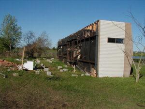 Mobile Home Wind Damage